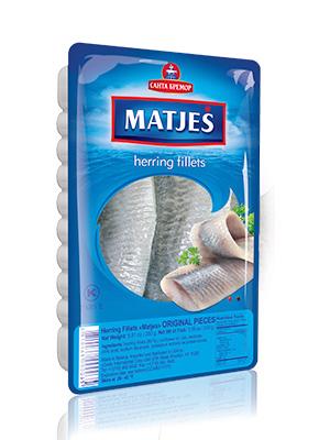 Herring fillets Matjes in oil Original, 250g, 20/carton